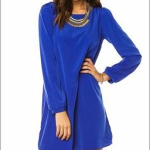 Dresses & Skirts - Long Sleeve Blue Dress